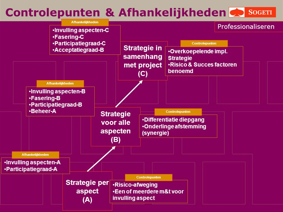Strategie in samenhang met project Strategie voor alle aspecten