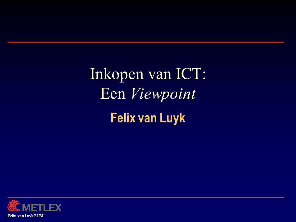 Inkopen van ICT: Een Viewpoint