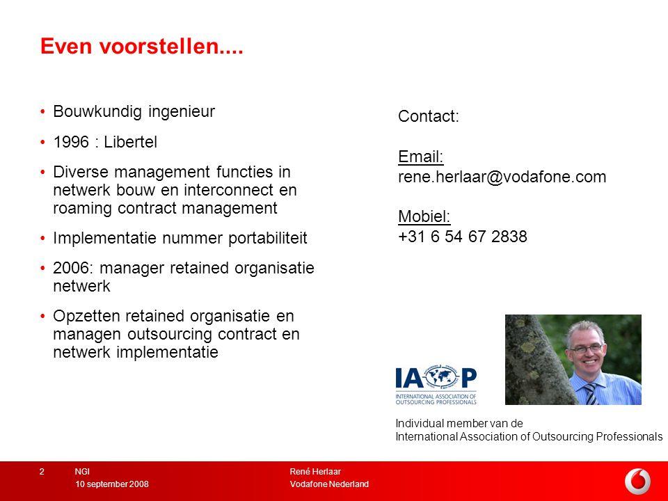 Even voorstellen.... Bouwkundig ingenieur Contact: 1996 : Libertel
