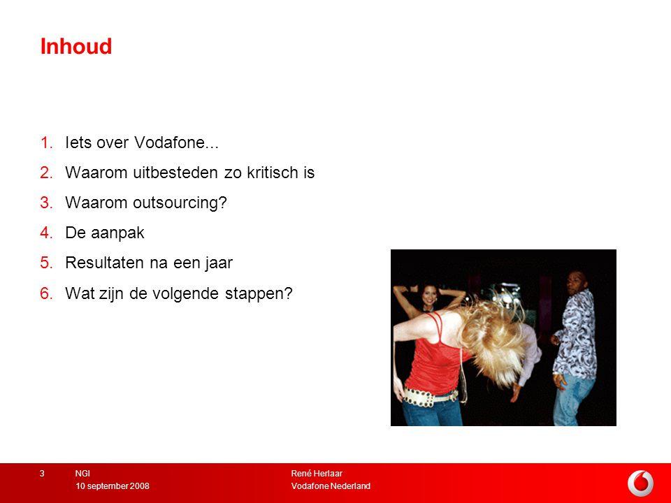 Inhoud Iets over Vodafone... Waarom uitbesteden zo kritisch is