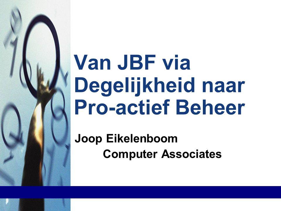 Van JBF via Degelijkheid naar Pro-actief Beheer