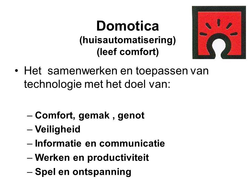 Domotica (huisautomatisering) (leef comfort)