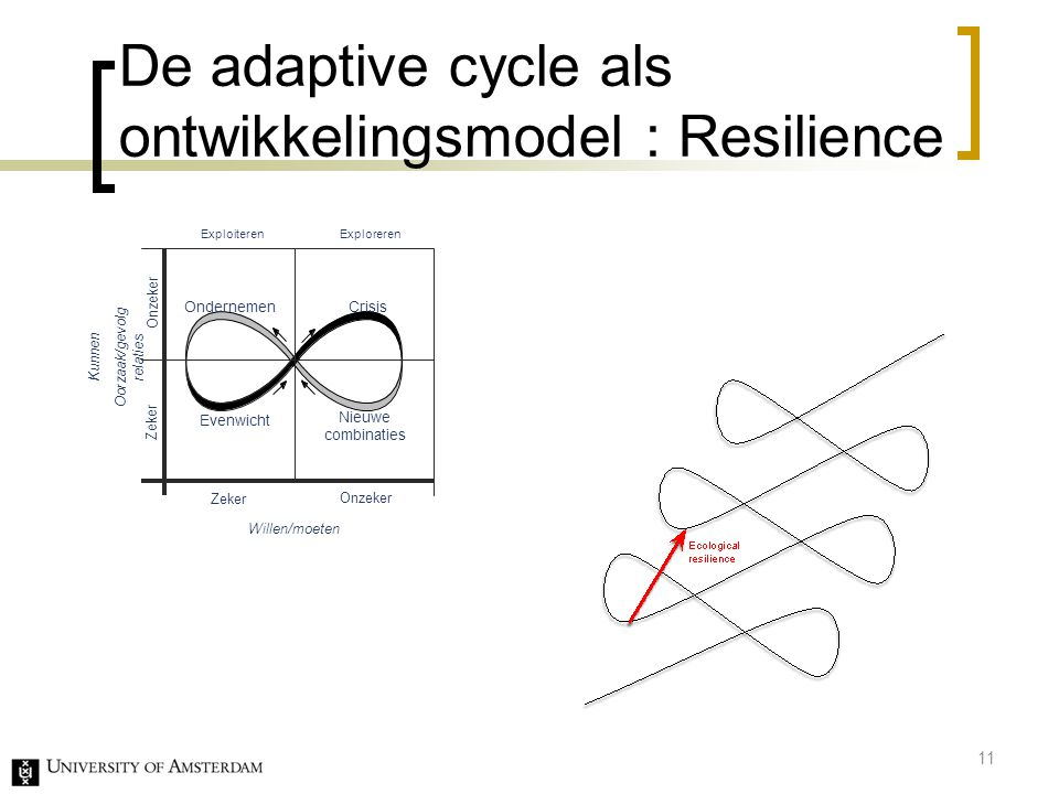 De adaptive cycle als ontwikkelingsmodel : Resilience
