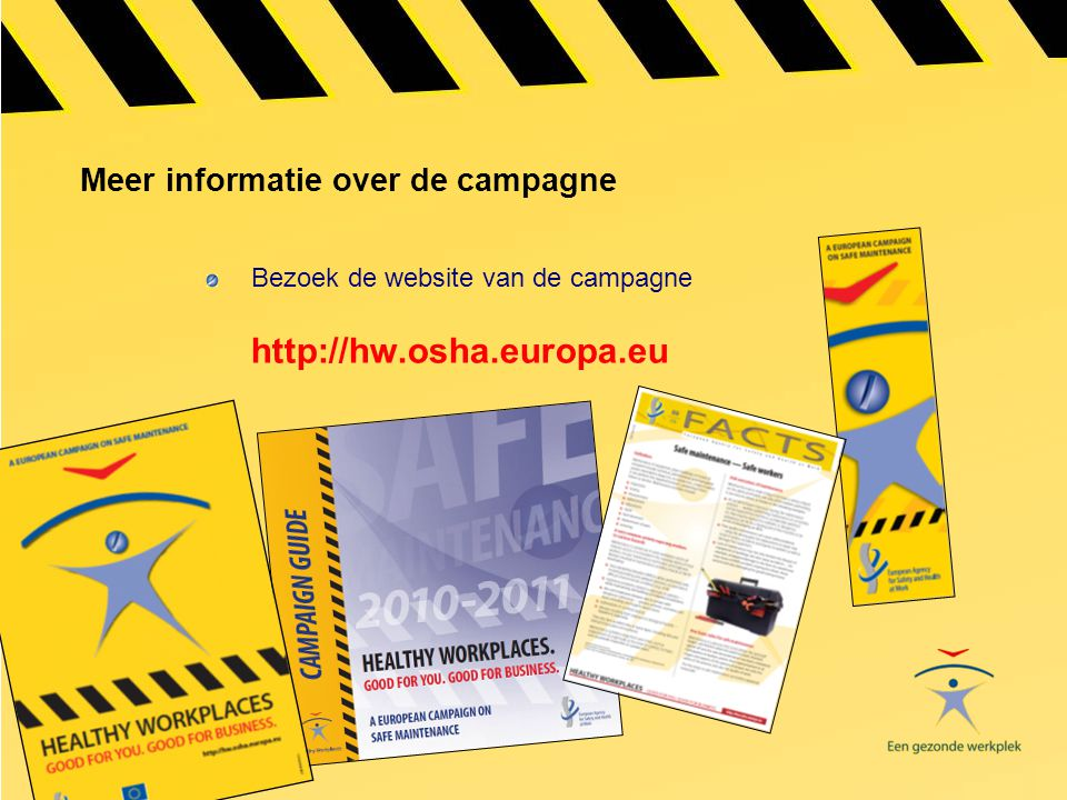 Meer informatie over de campagne