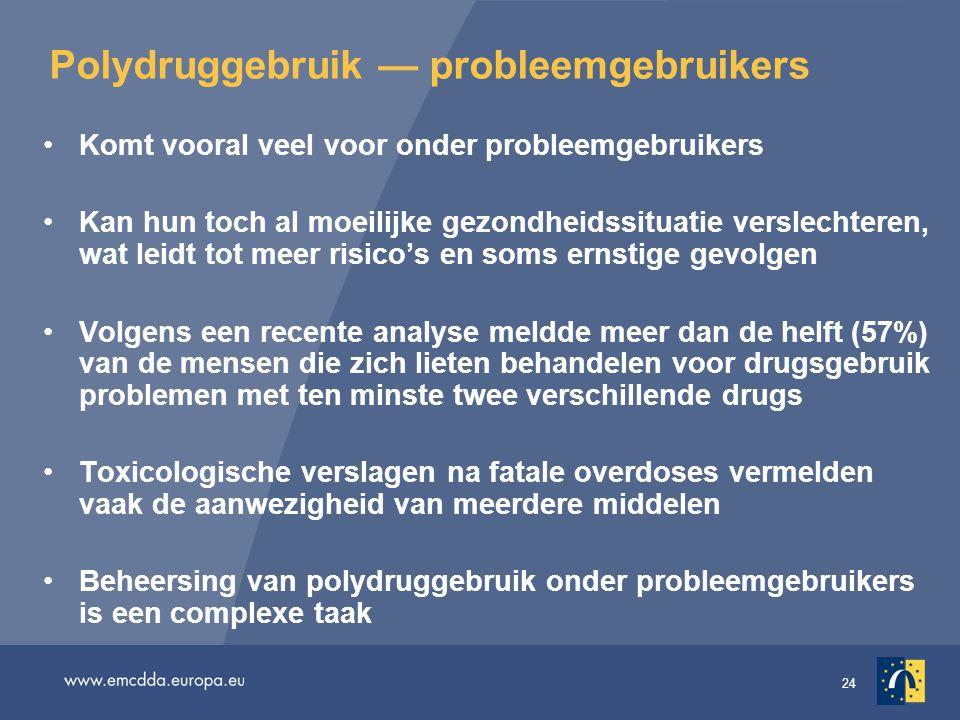 Polydruggebruik — probleemgebruikers