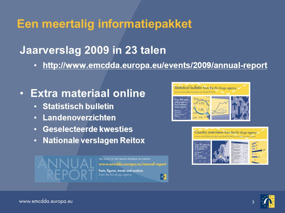 Een meertalig informatiepakket