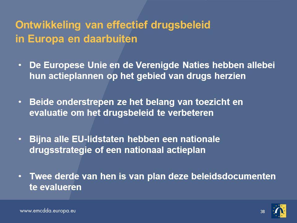 Ontwikkeling van effectief drugsbeleid in Europa en daarbuiten