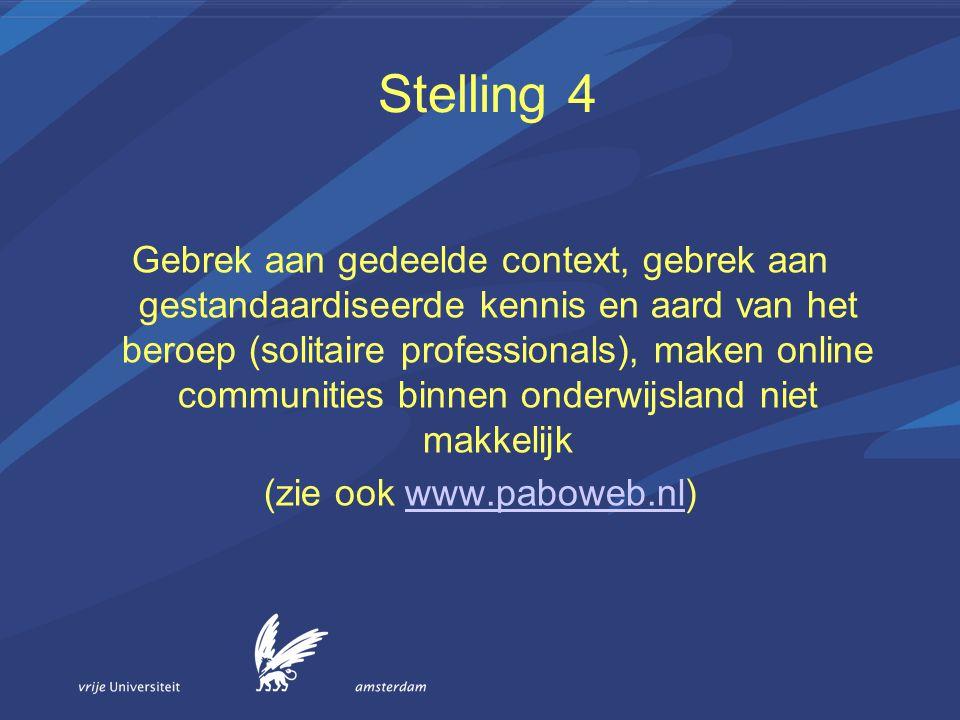 (zie ook www.paboweb.nl)