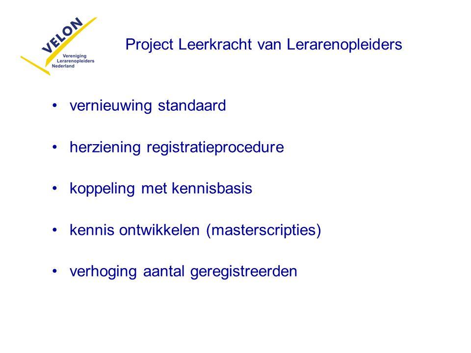 Project Leerkracht van Lerarenopleiders