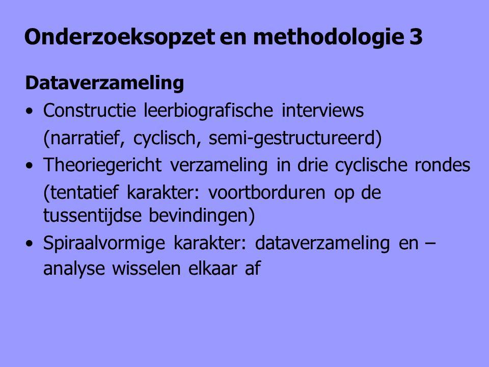 Onderzoeksopzet en methodologie 3