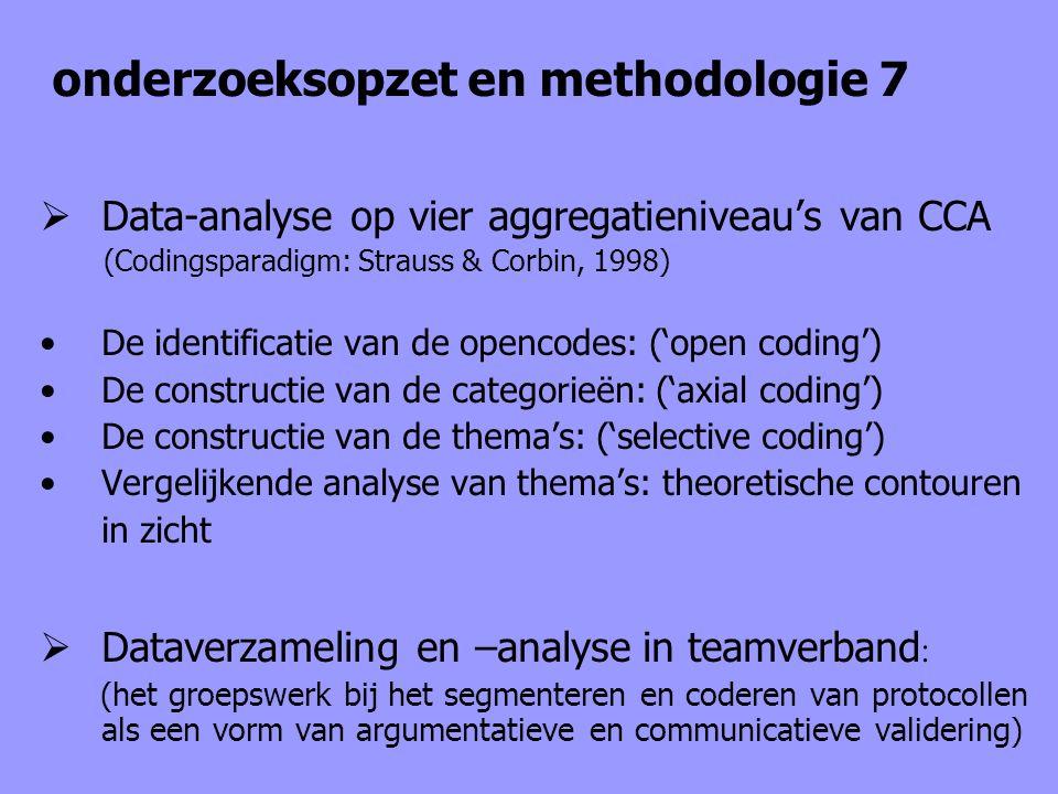 onderzoeksopzet en methodologie 7