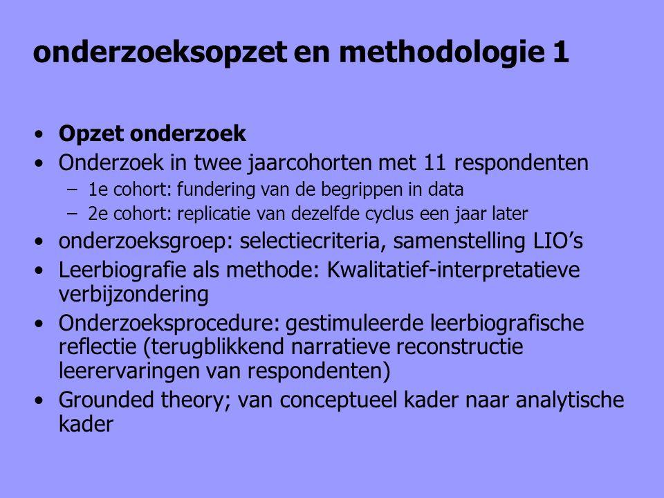 onderzoeksopzet en methodologie 1