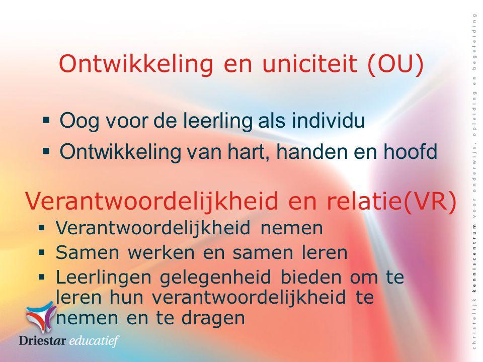 Ontwikkeling en uniciteit (OU)