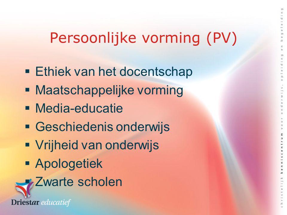 Persoonlijke vorming (PV)