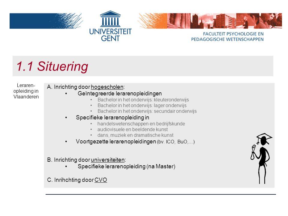 Leraren-opleiding in Vlaanderen