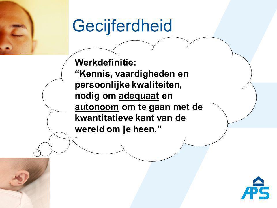 Gecijferdheid GC 2007 02 15 Ped. begeleidingsdienst Stad Gent