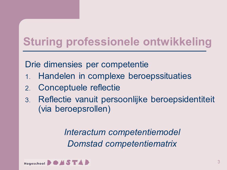 Sturing professionele ontwikkeling