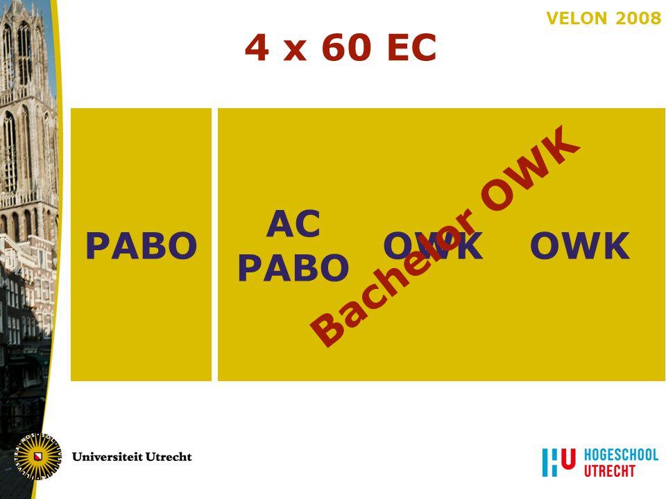 4 x 60 EC PABO OWK AC PABO Bachelor OWK