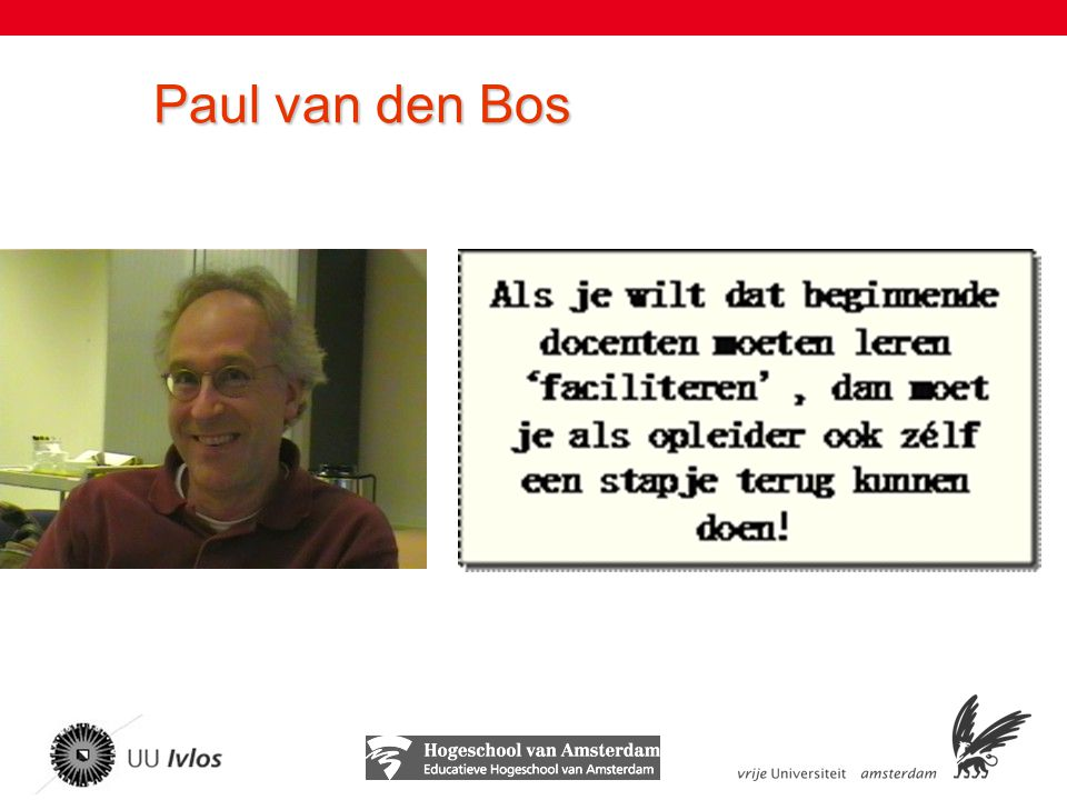 Paul van den Bos