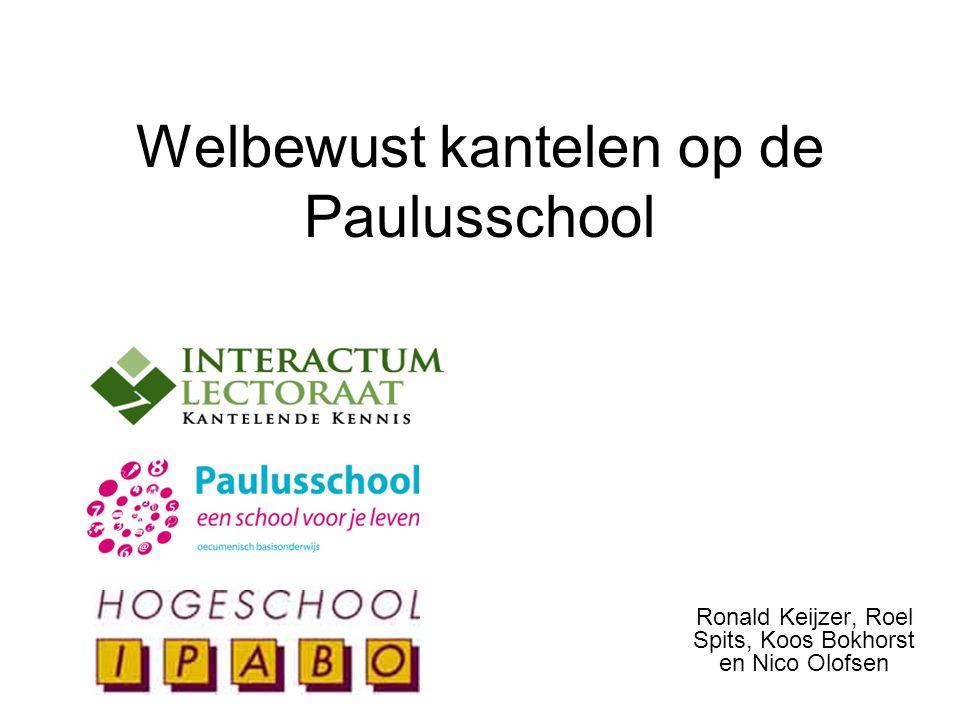 Welbewust kantelen op de Paulusschool