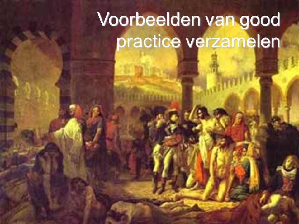 Voorbeelden van good practice verzamelen