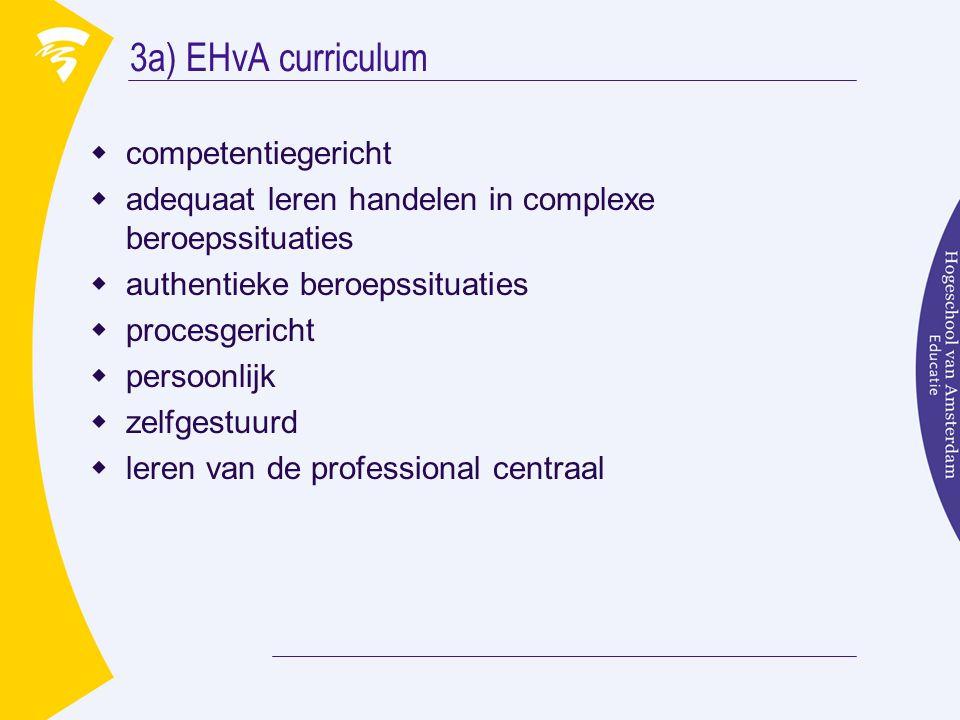 3a) EHvA curriculum competentiegericht
