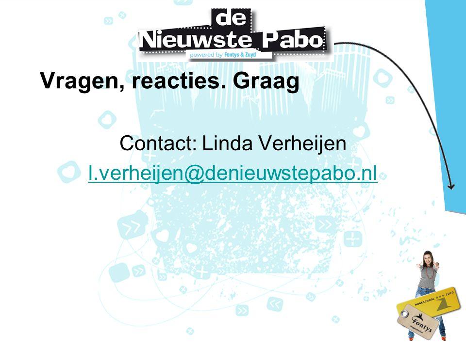 Contact: Linda Verheijen l.verheijen@denieuwstepabo.nl