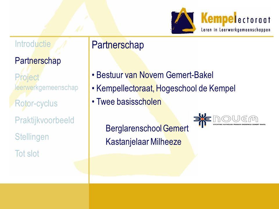 Partnerschap Bestuur van Novem Gemert-Bakel Introductie