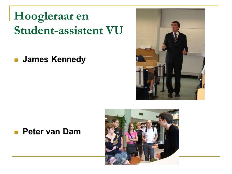 Hoogleraar en Student-assistent VU