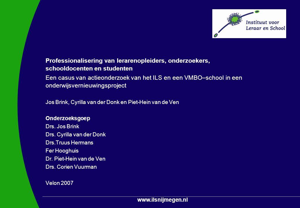 Jos Brink, Cyrilla van der Donk en Piet-Hein van de Ven