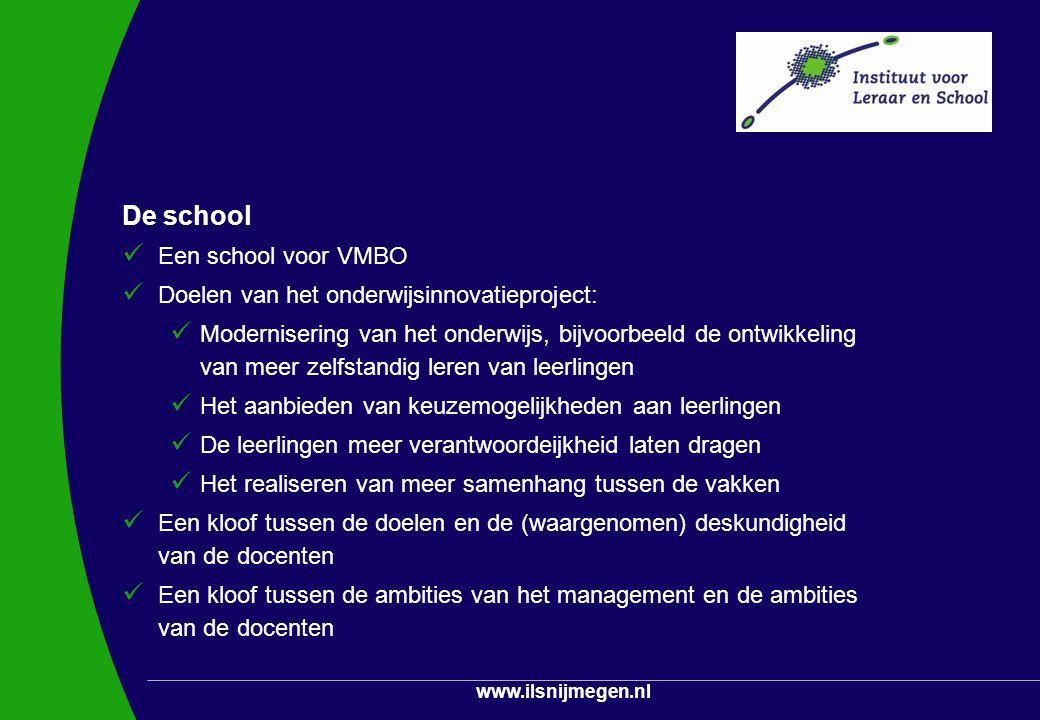 De school Een school voor VMBO