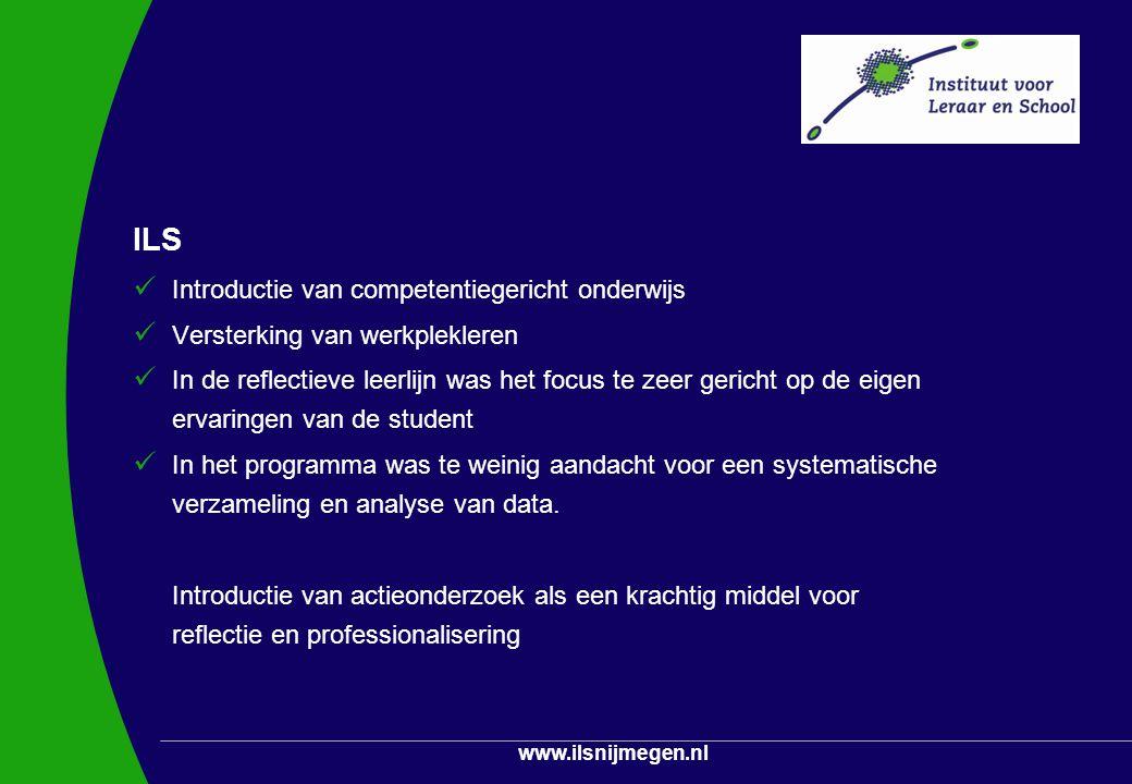 ILS Introductie van competentiegericht onderwijs