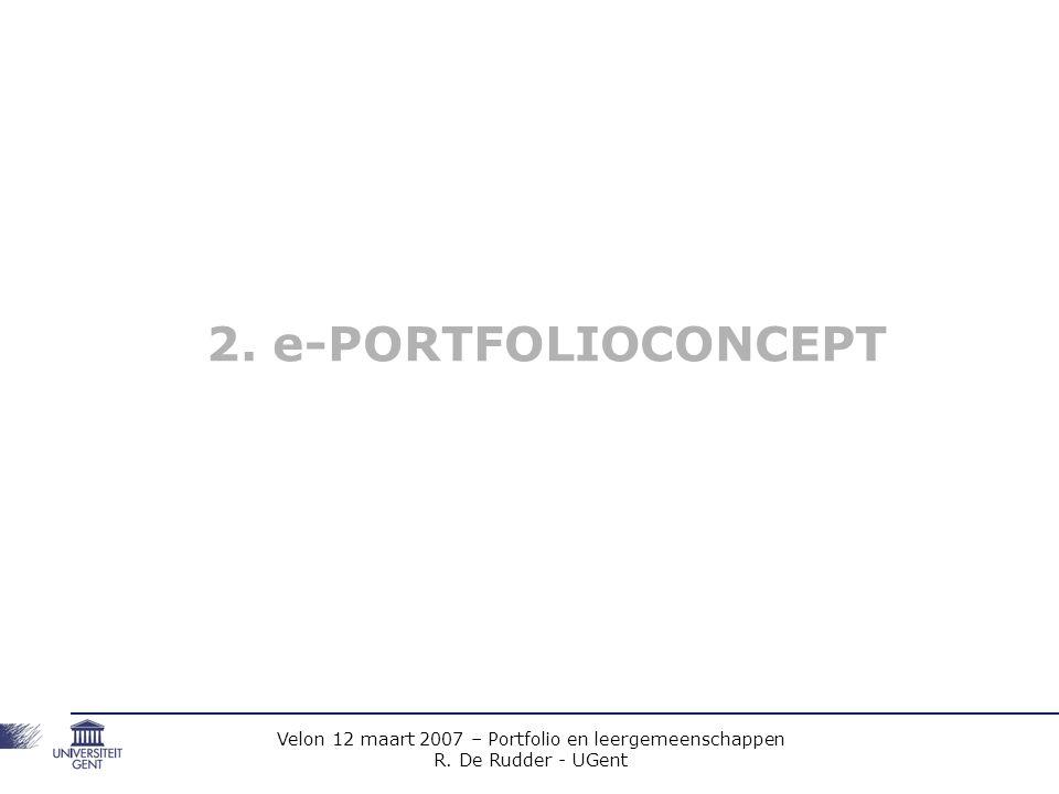 2. e-PORTFOLIOCONCEPT