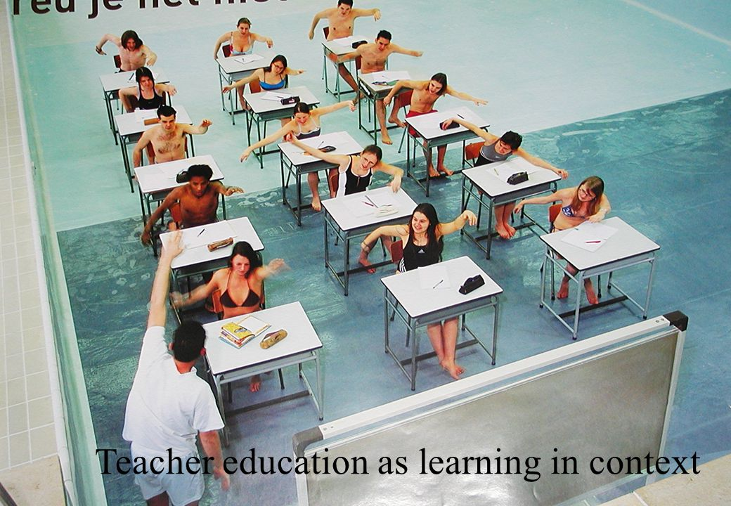 Teacher education as learning in context