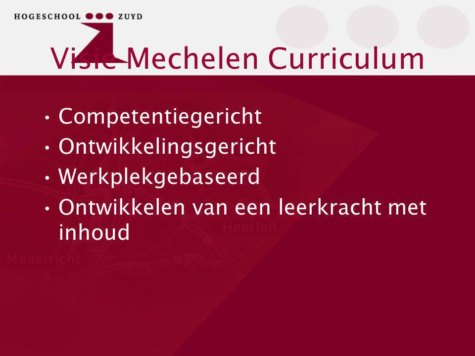 Visie Mechelen Curriculum