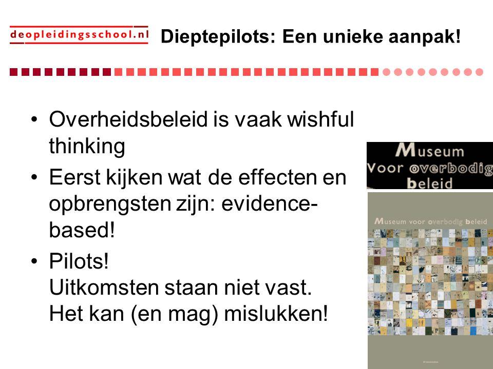 Dieptepilots: Een unieke aanpak!