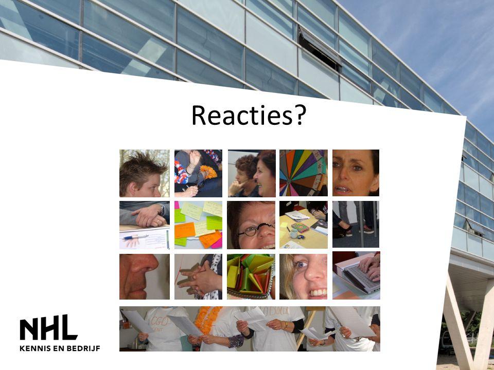 Reacties