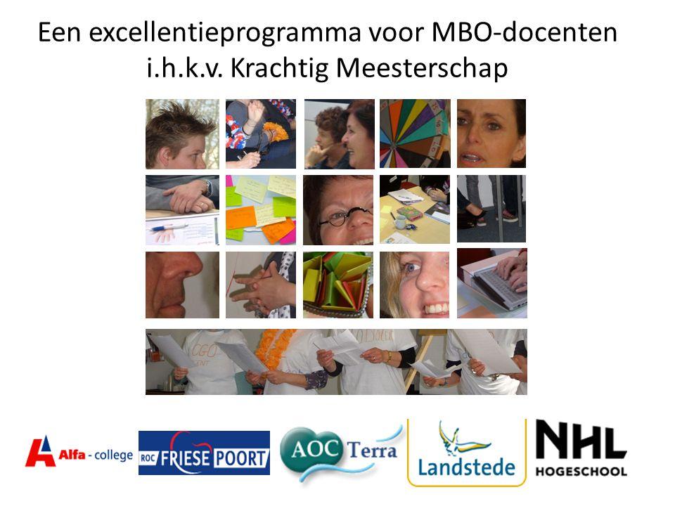 Een excellentieprogramma voor MBO-docenten