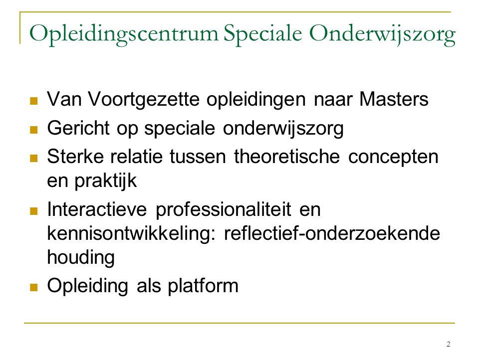 Opleidingscentrum Speciale Onderwijszorg
