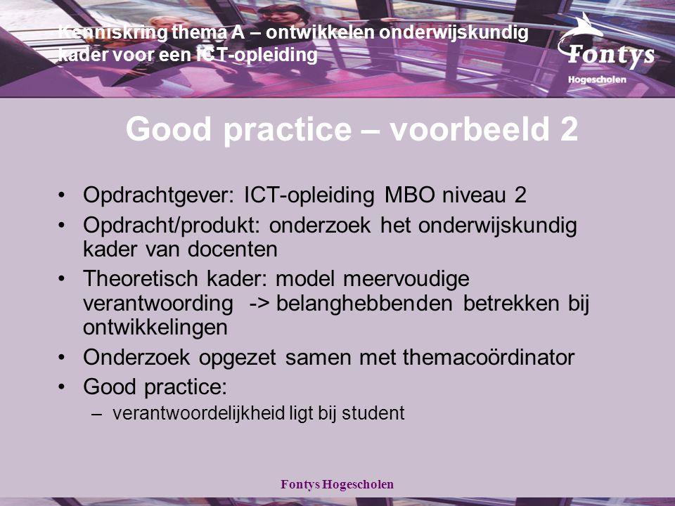Opdrachtgever: ICT-opleiding MBO niveau 2
