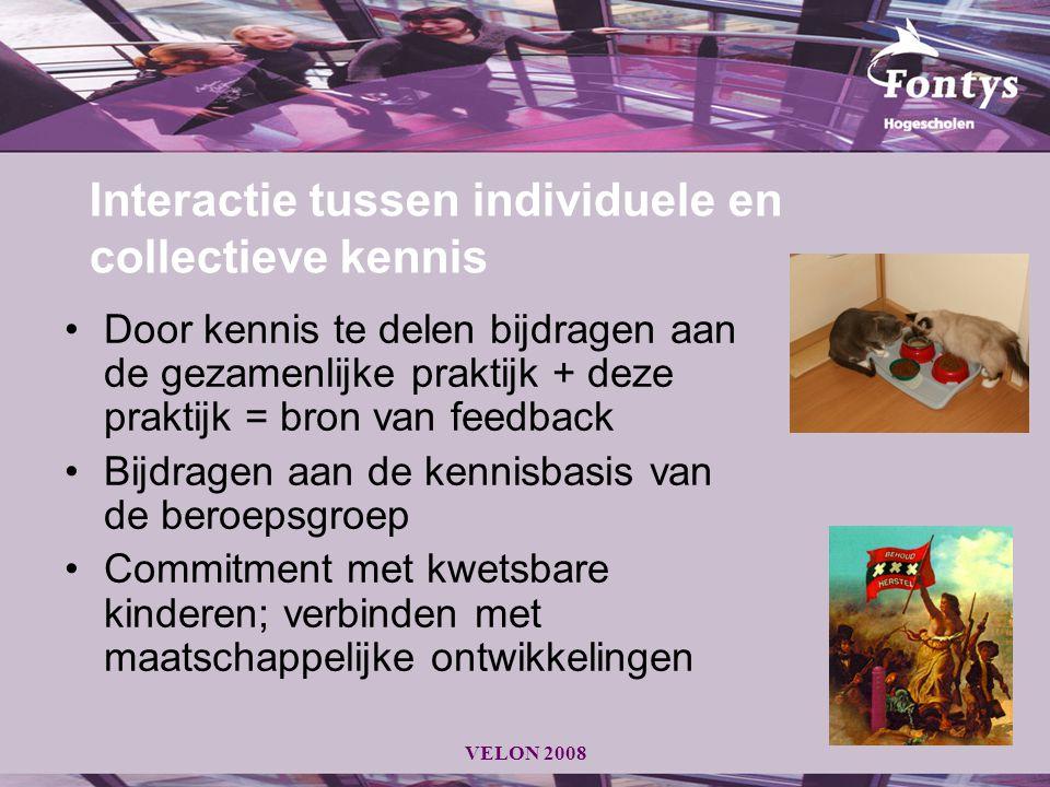Interactie tussen individuele en collectieve kennis