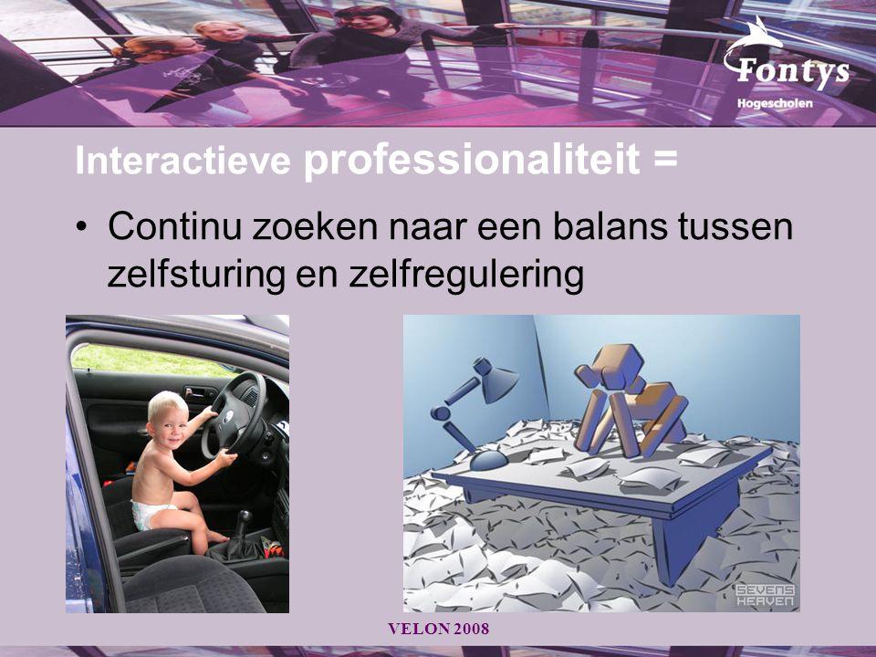 Interactieve professionaliteit =