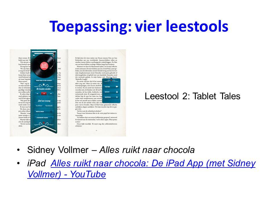 Toepassing: vier leestools