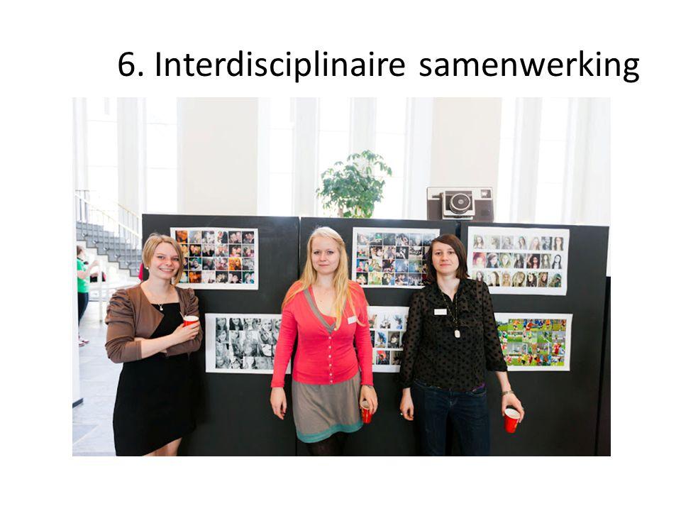 6. Interdisciplinaire samenwerking
