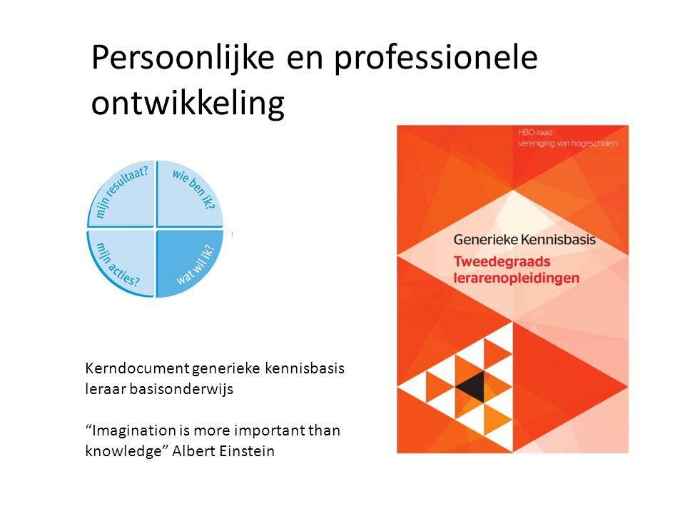 Persoonlijke en professionele ontwikkeling