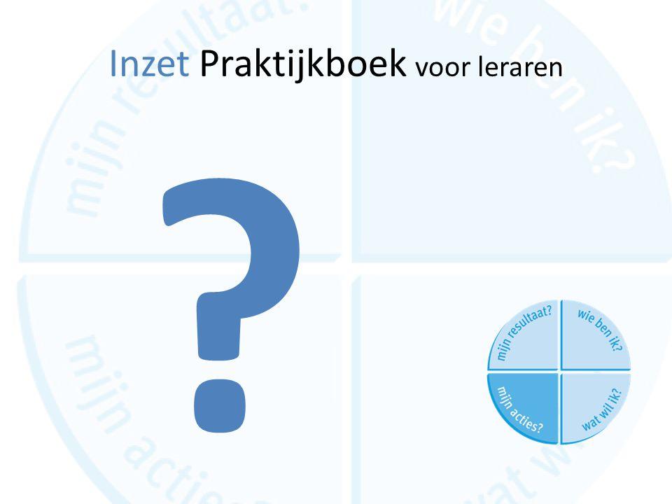 Inzet Praktijkboek voor leraren
