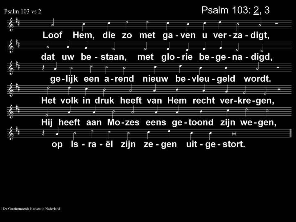 Psalm 103: 2, 3
