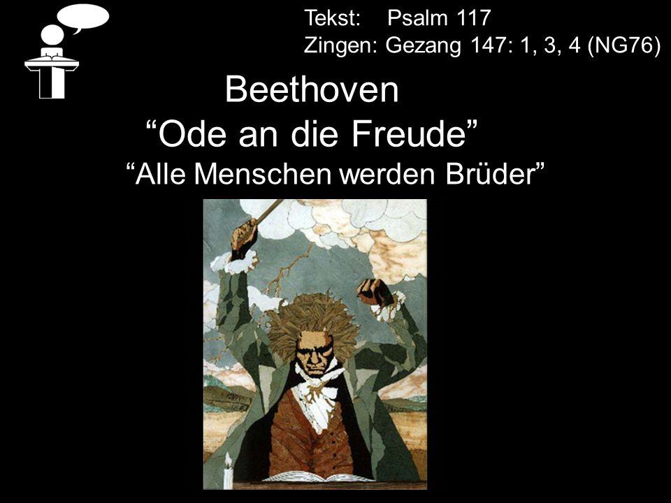 Beethoven Ode an die Freude