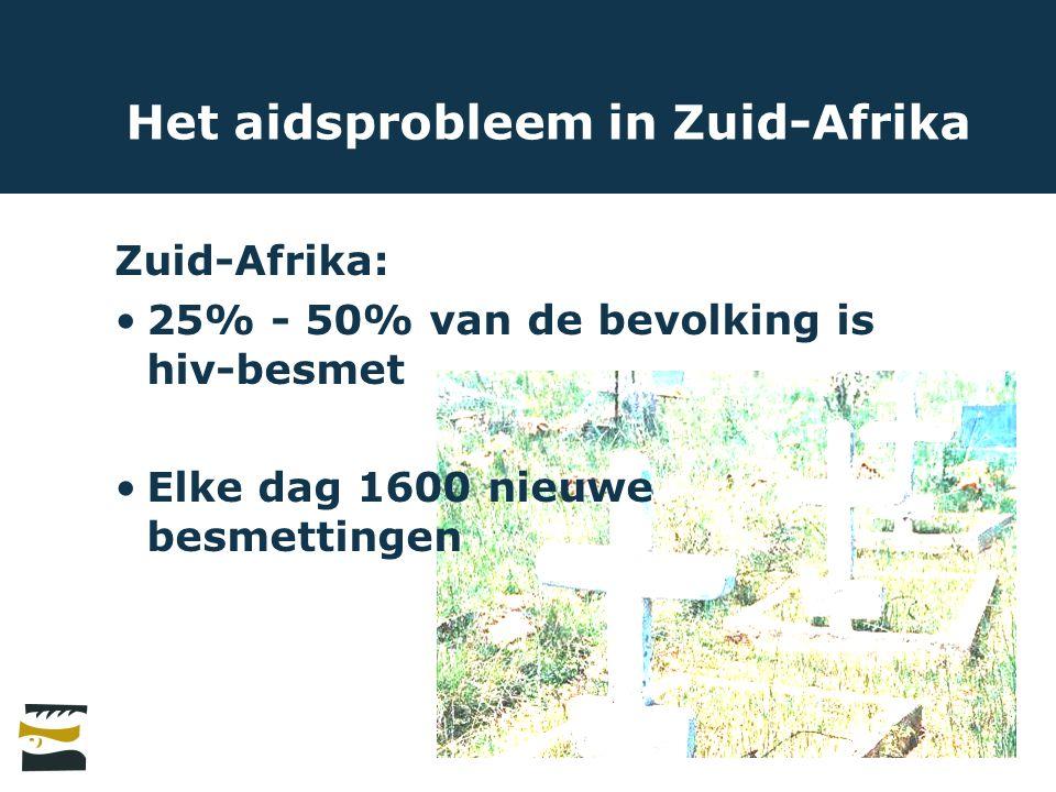 Het aidsprobleem in Zuid-Afrika