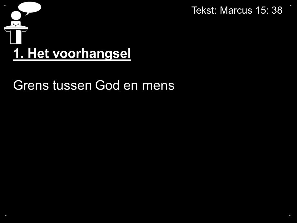 Grens tussen God en mens